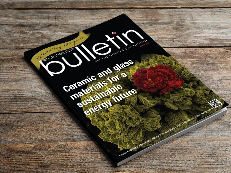 ACerS Bulletin cover