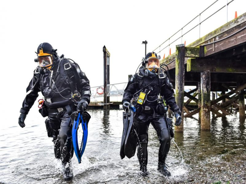 Divers at Sequim