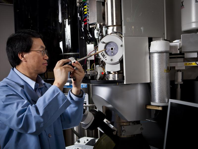 Chongmin and Scanning Electron Microsope