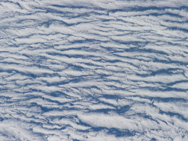 Small clouds from above
